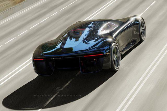 Porsche GTE Grand Tourer concept (10)