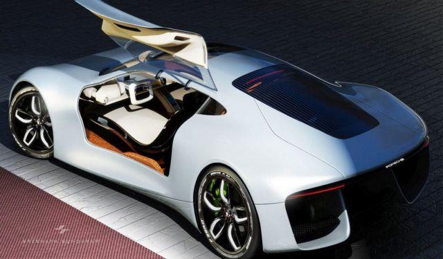 Porsche GTE Grand Tourer concept (7)