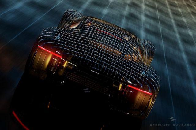 Porsche GTE Grand Tourer concept (4)