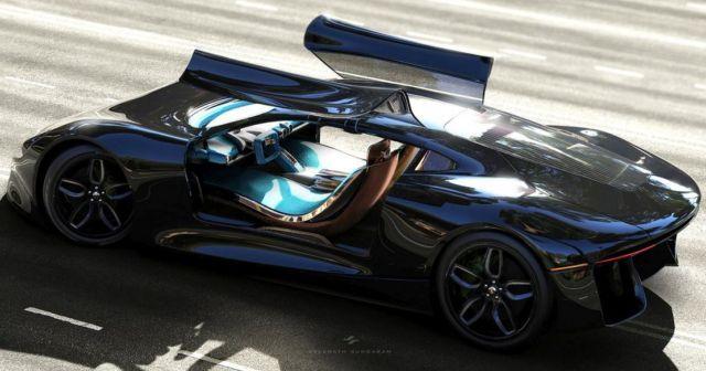Porsche GTE Grand Tourer concept (3)