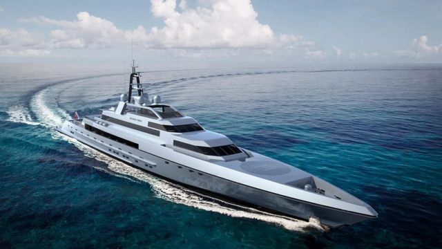 Silver Edge 260-Foot Superyacht