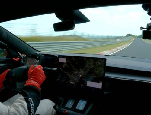 Tesla Model S Plaid sets production EV record at Nürburgring