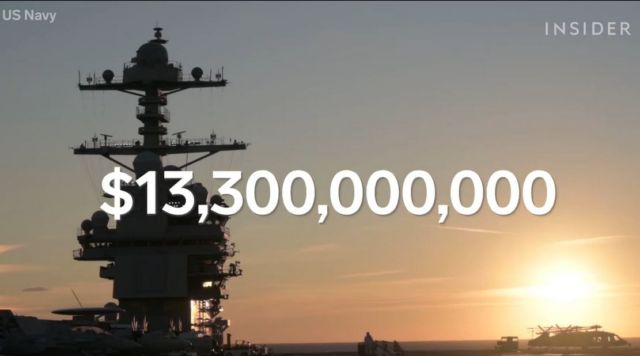 The True Cost of the most advanced Aircraft Carrier (1)