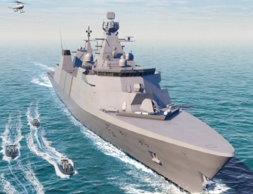 Work began on the Royal Navy's Type 31 Frigate
