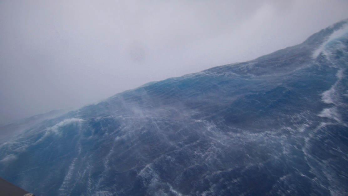 Amazing video from inside Hurricane Sam