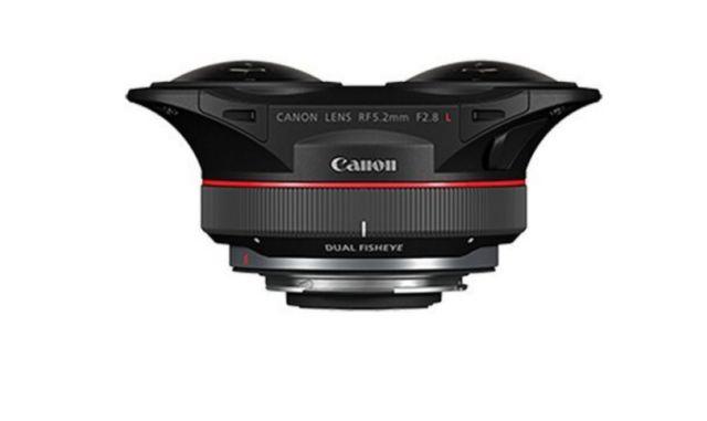 Canon's new Dual Fisheye Lens (2)