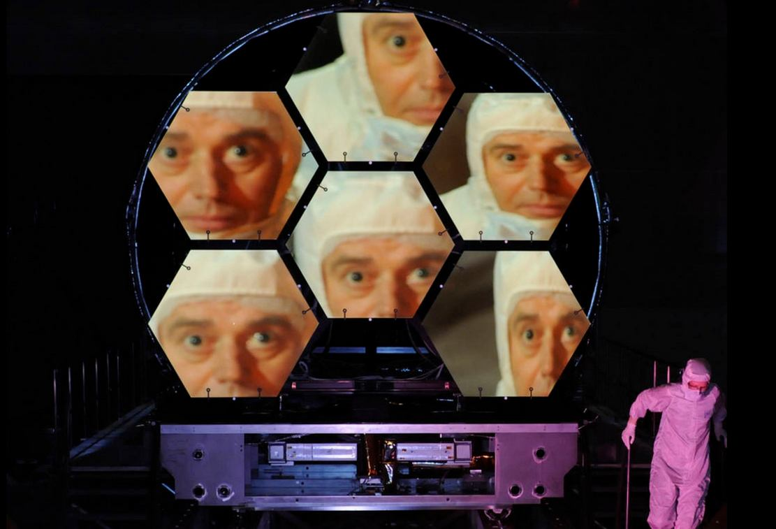 Cryogenic testing of the Webb Telescope's Primary Mirror