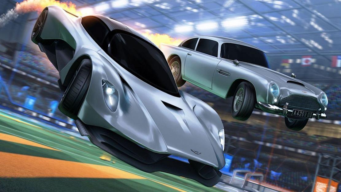 James Bond's latest Aston Martin in 'Rocket League'