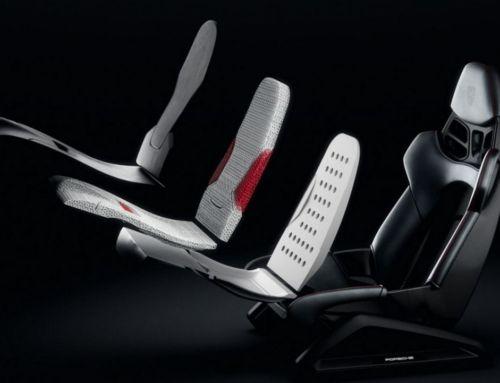 Porsche 3D-printed Bodyform Seats