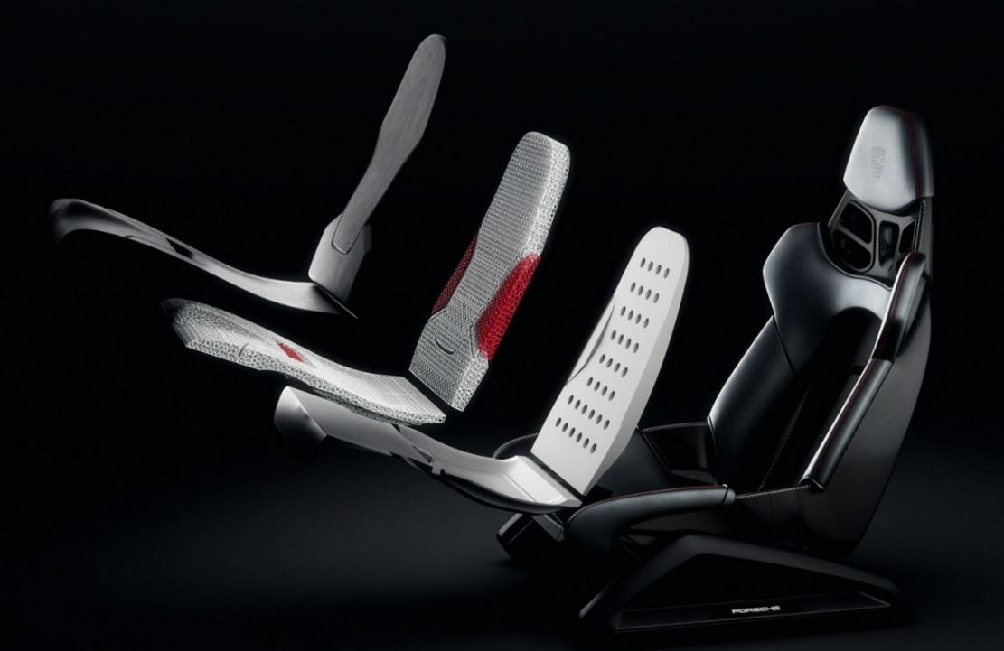 Porsche 3D-printed Bodyform Seats (6)