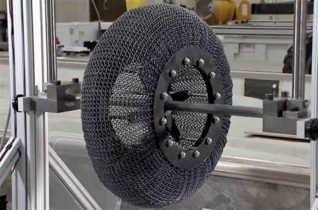SMART space-age tire