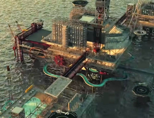 The Rig world's first Offshore Leisure Park