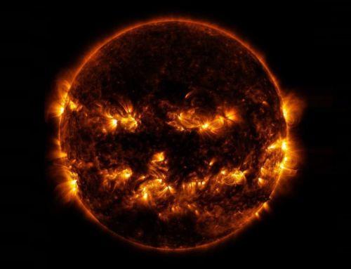 The Sun as a Glowing Pumpkin