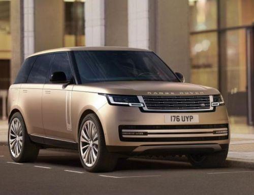 The new 2022 Range Rover