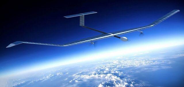 Zephyr Solar-Powered Aircraft