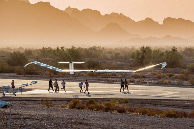 Zephyr Solar-Powered Aircraft (2)