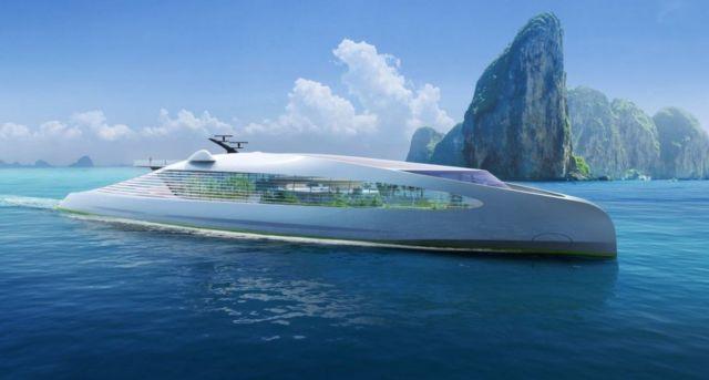 Zero-Carbon Superyacht Concept VY-01 (9)